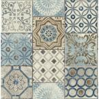 NextWall Moroccan Tile Peel and Stick Wallpaper