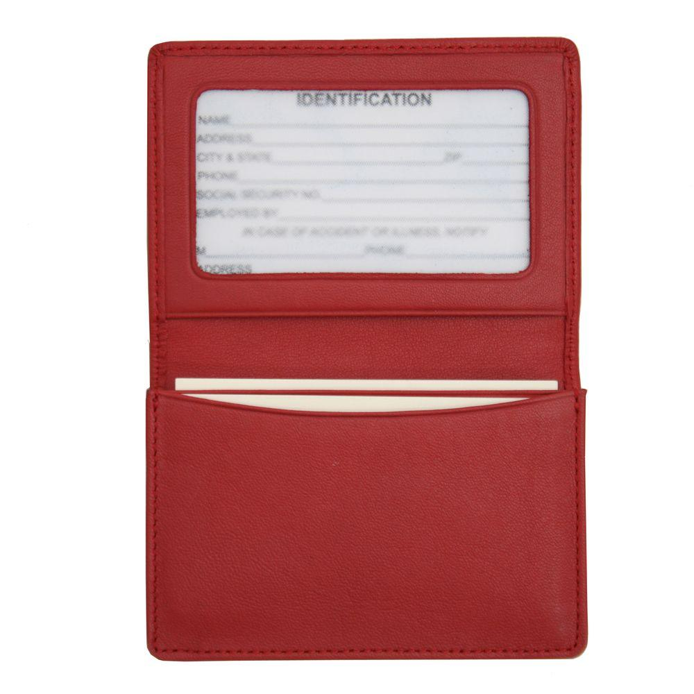 b608a59068e5 Royce Genuine Leather Business Card Case Wallet