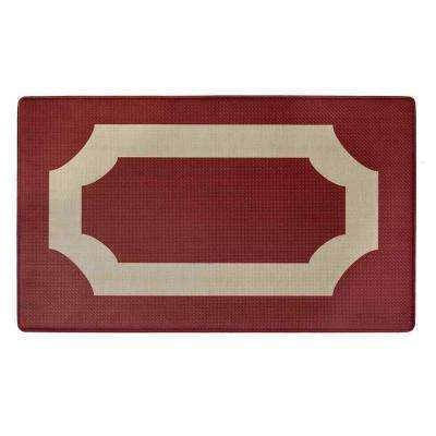 Darcy Marsala 18 in. x 30 in. Anti-Fatigue Mat