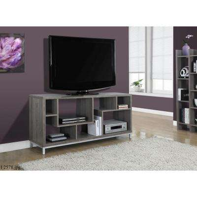 Dark Taupe Entertainment Center