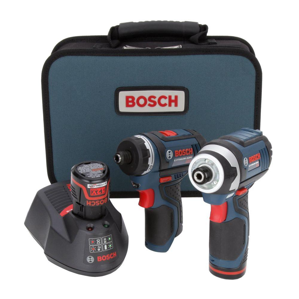 Bosch 12-Volt Lithium-Ion Combo Kit (2-Tool)