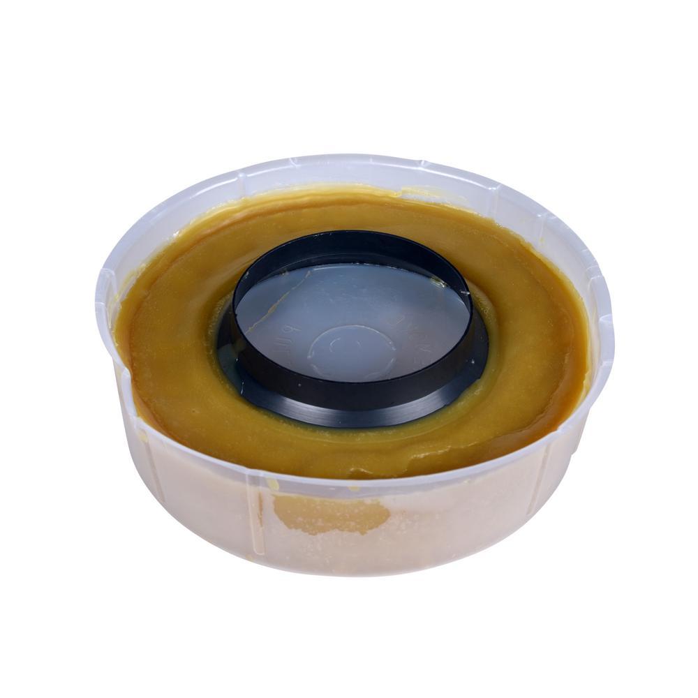 Hercules Johni-Ring 3 in. - 4 in. Jumbo Toilet Wax Ring with Plastic Horn