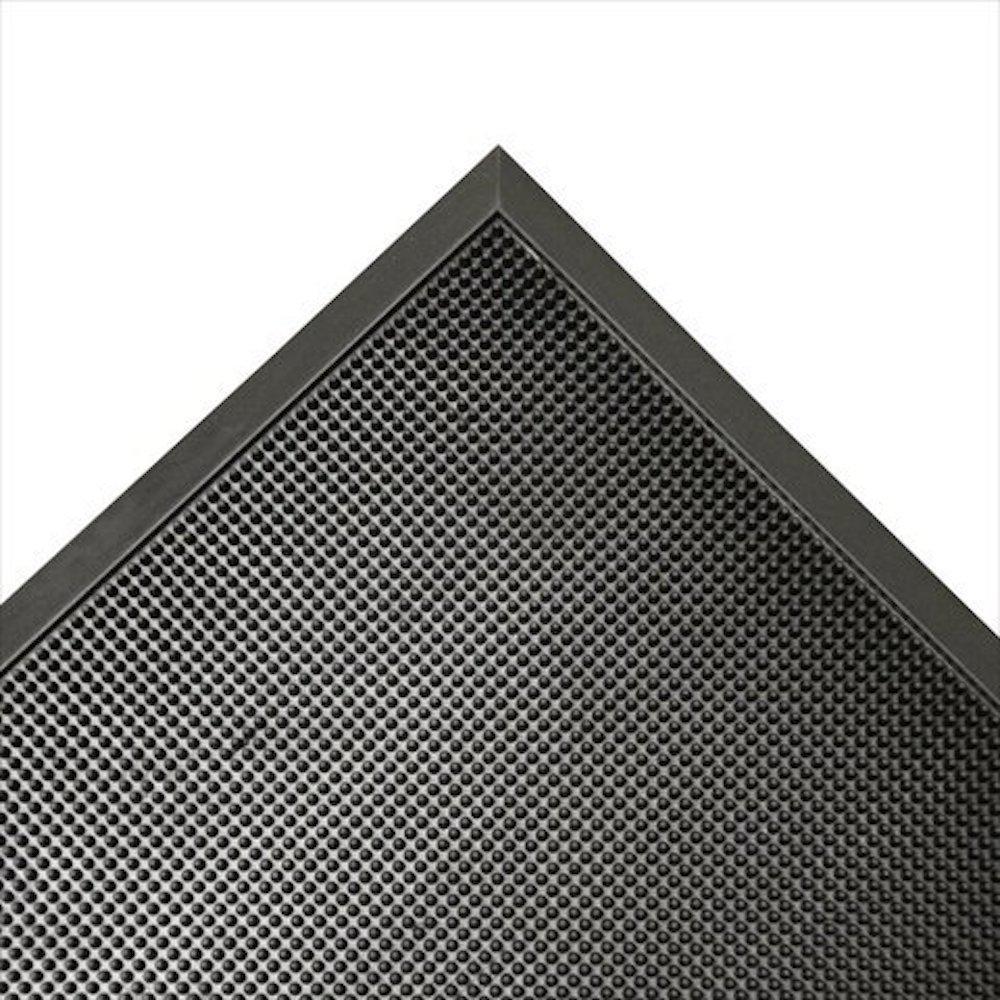 Door Scraper Black 36 in. x 72 in. Recycled Rubber Commercial Mat
