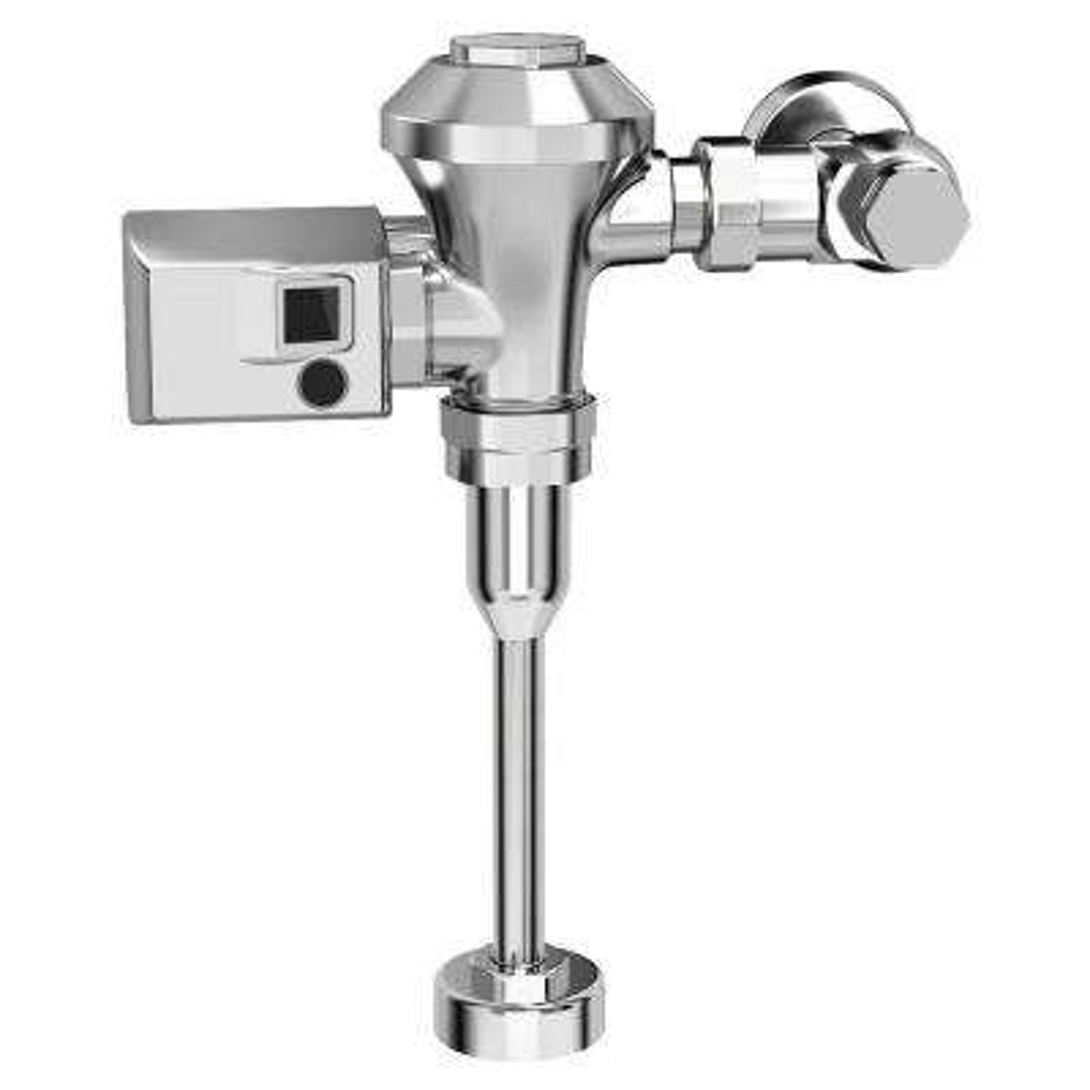 Ultima Sensor-Operated 0.5 GPF Toilet Diaphragm-Type Flush Valve in Polished Chrome
