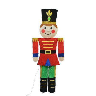 60 in. Candy Cane Lane 2D Toy Soldier Yard Décor
