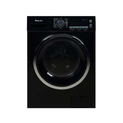 2.0 cu. ft. All-in-One Washer and Ventless Electric Dryer in Black