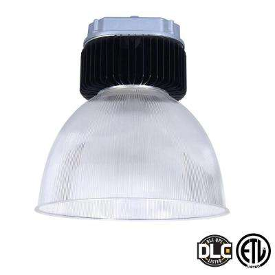 3-Light Black LED 150-Watt Bell High Bay with Natural Light (5000K)