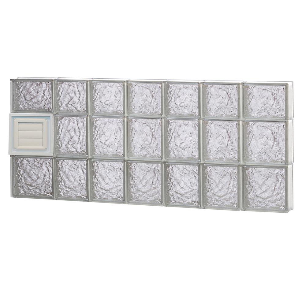 Clearly Secure 44.25 in. x 21.25 in. x 3.125 in. Frameless Ice ...