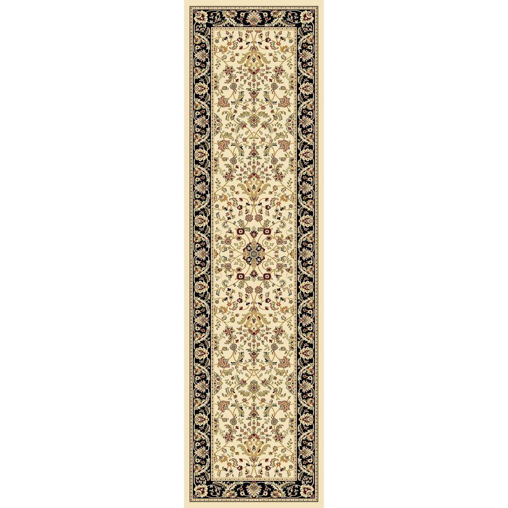 Williams Collection Istanbul Ivory 2 ft. 2 in. x 7 ft.