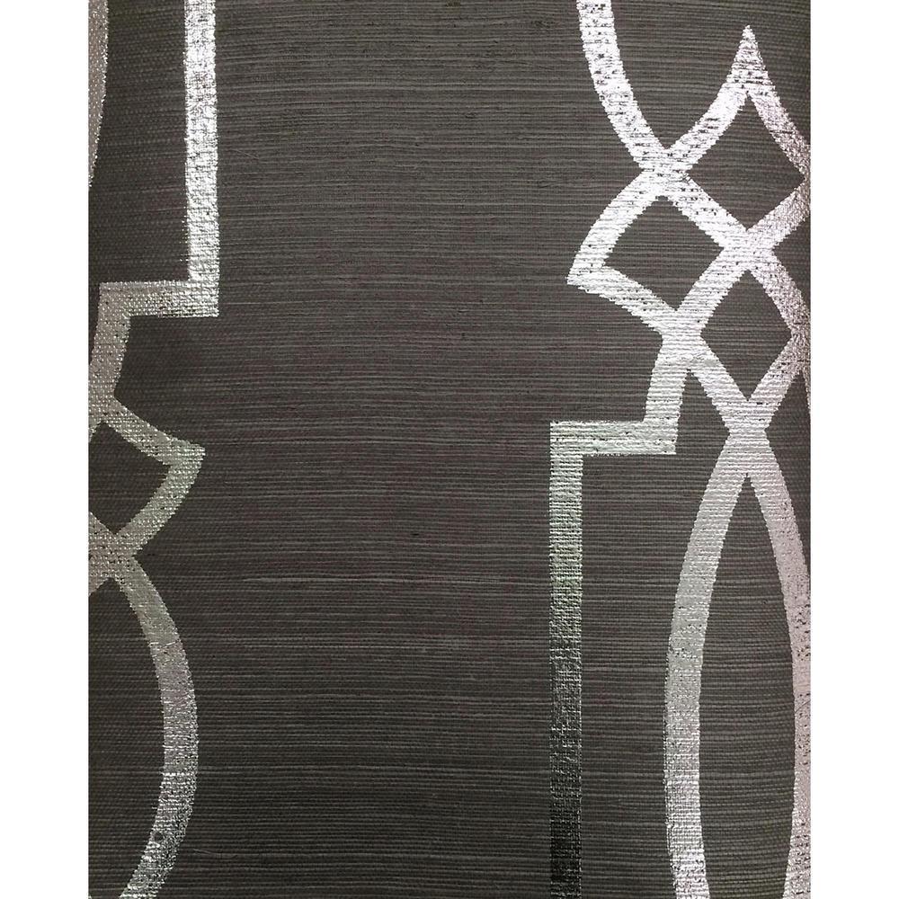 Ronald Redding Designs Stripes Resource Cathedral Trellis Wallpaper