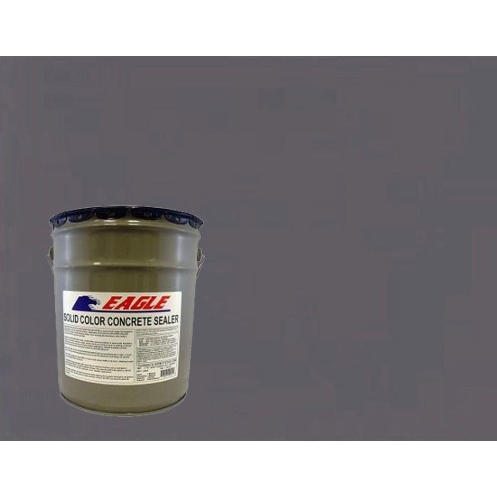 5 gal. Silver Gray Solid Color Solvent Based Concrete Sealer