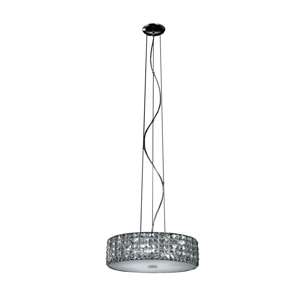 Home Decorators Collection 6 Light Chrome Pendant