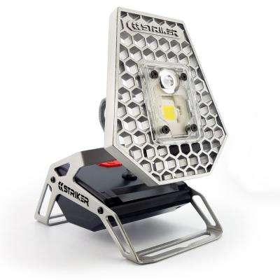 Rover 1200-Lumen LED Aluminum Rechargeable Mobile Task Light