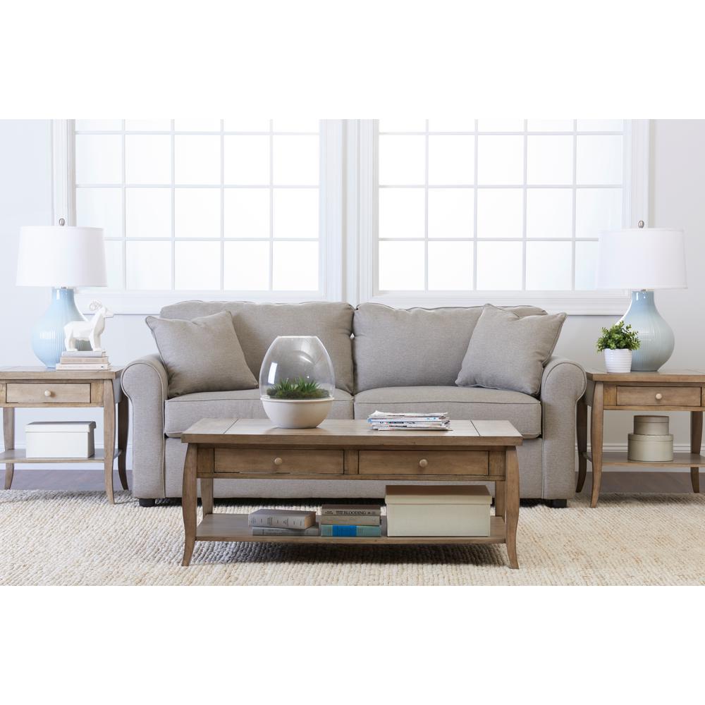 Klaussner Brighton Gray Sofa