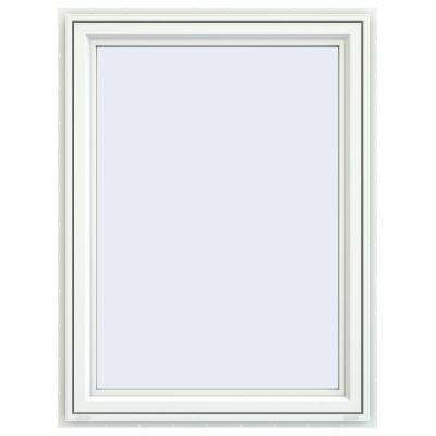 35.5 in. x 47.5 in. V-4500 Series Right-Hand Casement Vinyl Window - White