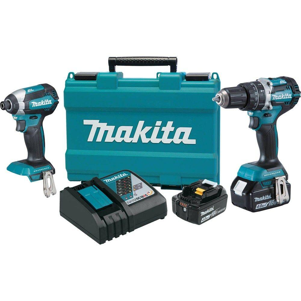 makita 18v lxt lith ion brushless cordless hammer drill. Black Bedroom Furniture Sets. Home Design Ideas