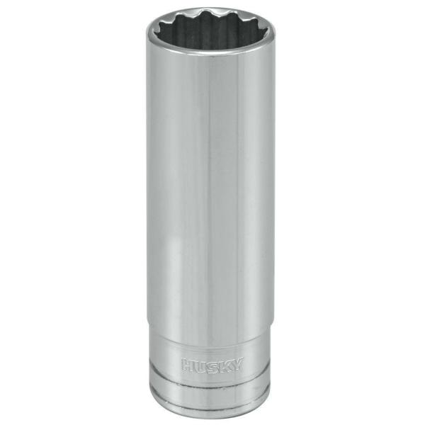 1/2 in. Drive 9/16 in. 12-Point SAE Deep Socket