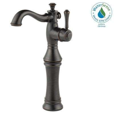 Cassidy Single Hole Single-Handle Vessel Bathroom Faucet in Venetian Bronze