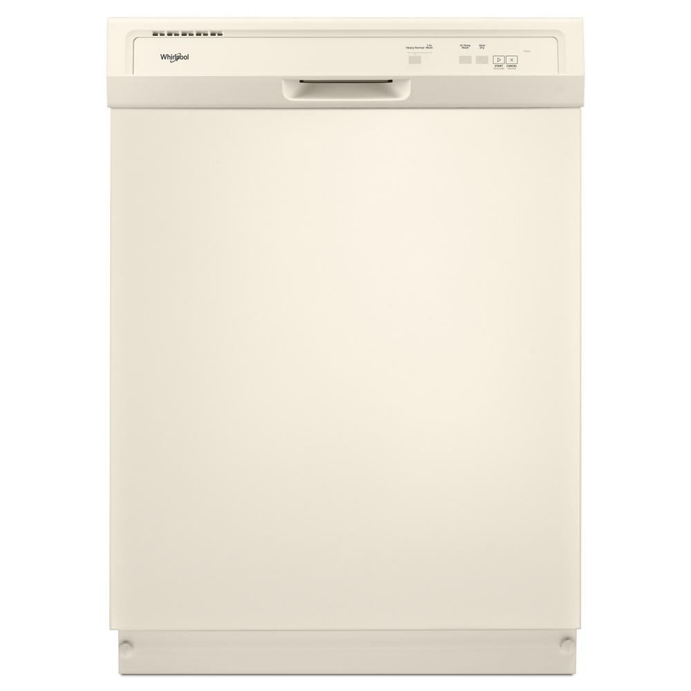 Whirlpool 24 in. Front Control Built-In Tall Tub Dishwash...