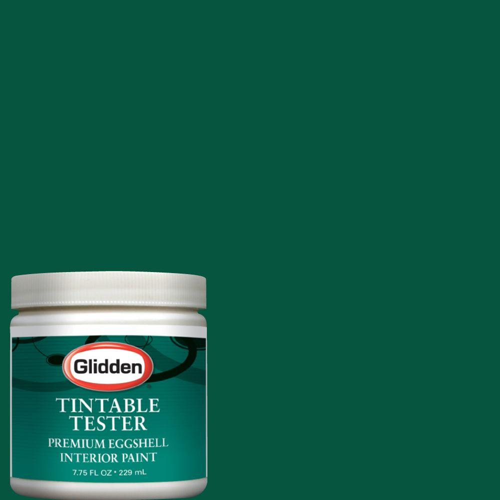 Glidden Premium 8 Oz Forest Green Interior Paint Tester