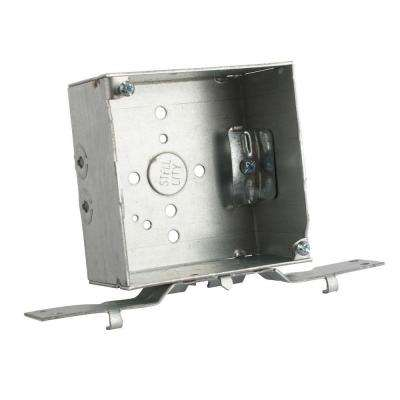4 in. Steel Square Outlet Box (25 per Case)