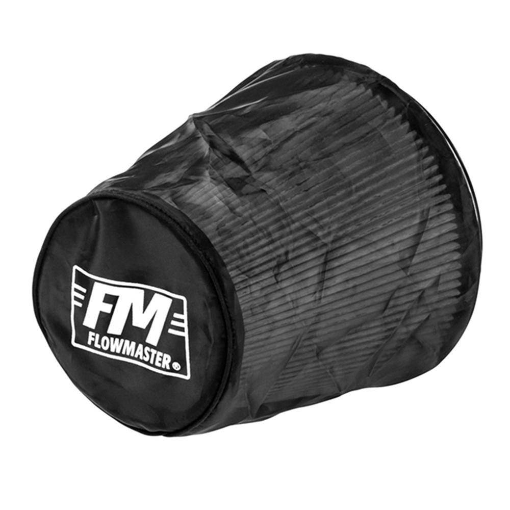 Universal Air Filter Wrap 7.500in Long - Black