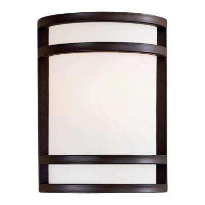 Bay View 1-Light Oil-Rubbed Bronze Outdoor Wall Mount Lantern