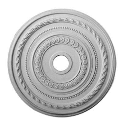 25-3/8 in. x 3-3/8 in. ID x 1-3/8 in. Cole Urethane Ceiling Medallion (Fits Canopies upto 9-1/8 in.)