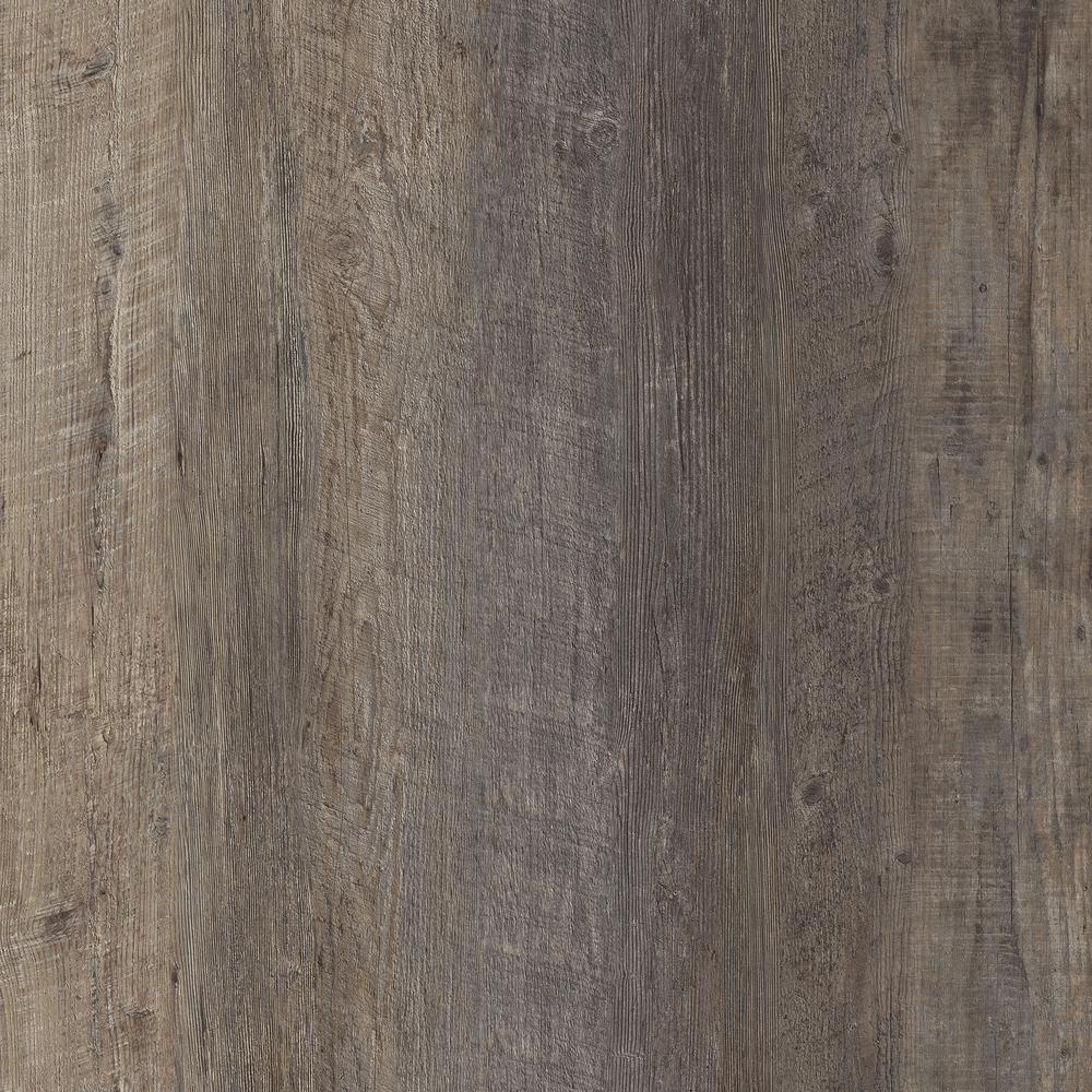 LifeProof Take Home Sample - Seasoned Wood Luxury Vinyl Flooring - 4 in. x 4 in.