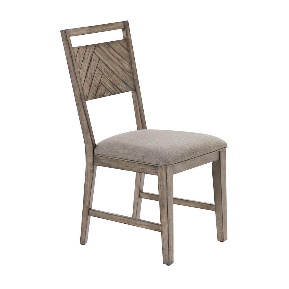 Ellington Smokey Oak Dining Chairs Set of 2