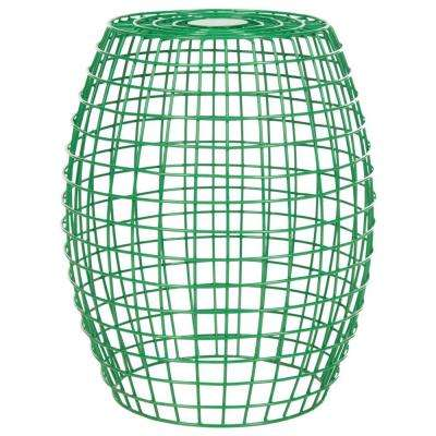 Eric Grid Green End Table