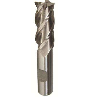 3/8 in. x 3/8 in. Shank High Speed Steel Long End Mill Specialty Bit with 4-Flute