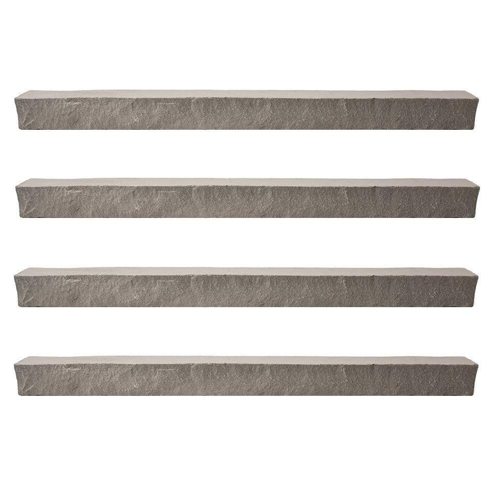 Stacked Stone 3.25 in. x 48 in. Kenai Faux Ledger (4-Pack)