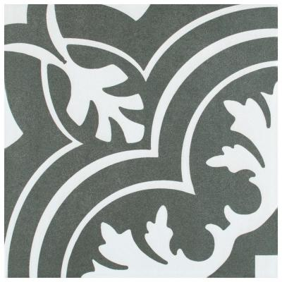 Twenties Classic Encaustic 7-3/4 in. x 7-3/4 in. Ceramic Floor and Wall Tile (11.11 sq. ft. / case)