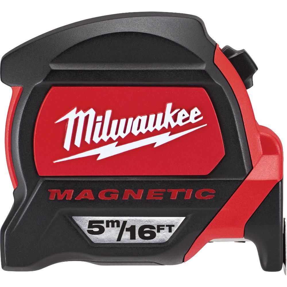 Milwaukee 5 m/16 ft. Premium Magnetic Tape Measure by Milwaukee