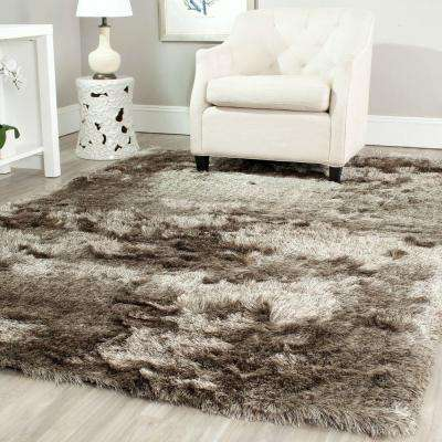 Paris Shag Sable 5 ft. x 8 ft. Area Rug