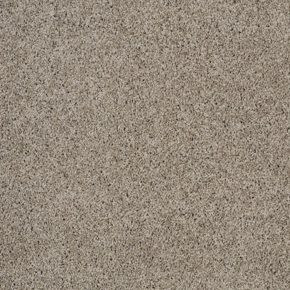 Martha Stewart Living Port Stanwick I - Color Gray Squirrel 6 in. x 9 in. Take Home Carpet Sample-DISCONTINUED
