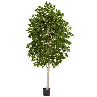 6 in. Birch Artificial Tree