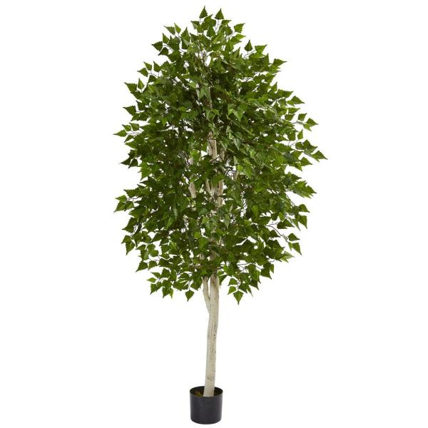 Nearly Natural 6 in. Birch Artificial Tree 5489