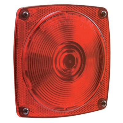 Turn Tail License Reflex-Without Integral Back Up Light Peterson Manufacturing V25913 Stop