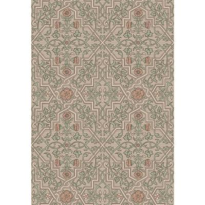 Rosenvinge Light Brown Ironworks Wallpaper Sample