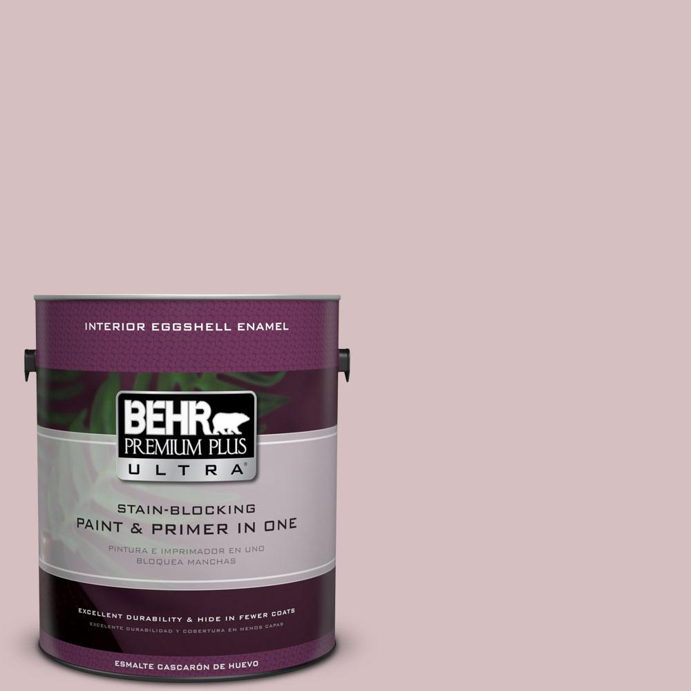 BEHR Premium Plus Ultra 1 gal. #PPU17-9 Embroidery Eggshell Enamel Interior Paint and Primer in One