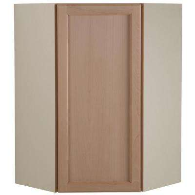 Easthaven Embled 23 64x36x23 64 In Corner Wall Cabinet Unfinished German Beech