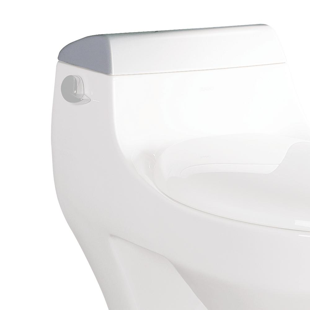 R-108LID Toilet Tank Cover in White