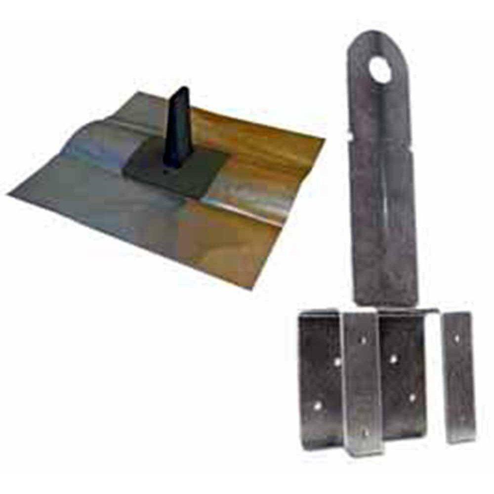 Qualcraft T-T Boss Black Kit (Anchor/Flashing/Fasteners /Cap)