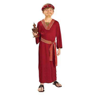 Boy's Burgundy Wiseman Costume