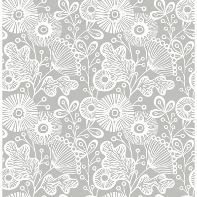 Mia Greys Vinyl Strippable Roll (Covers 30.75 sq. ft.)