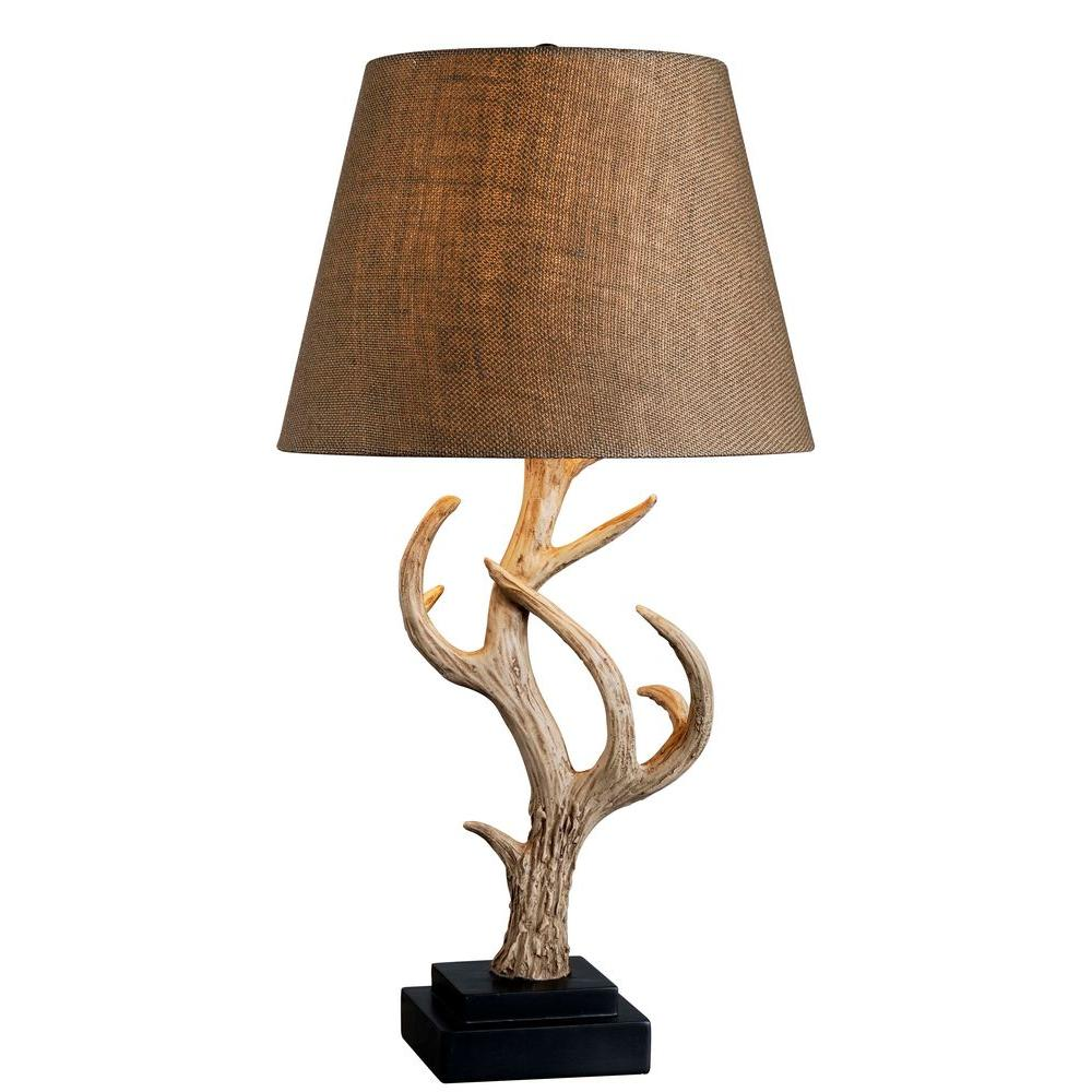 Buckhorn 29 in. Antler Table Lamp