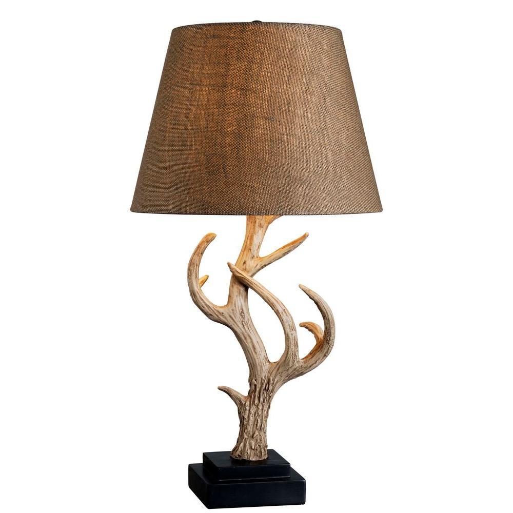 Buckhorn 29 in. Antler Table Lamp