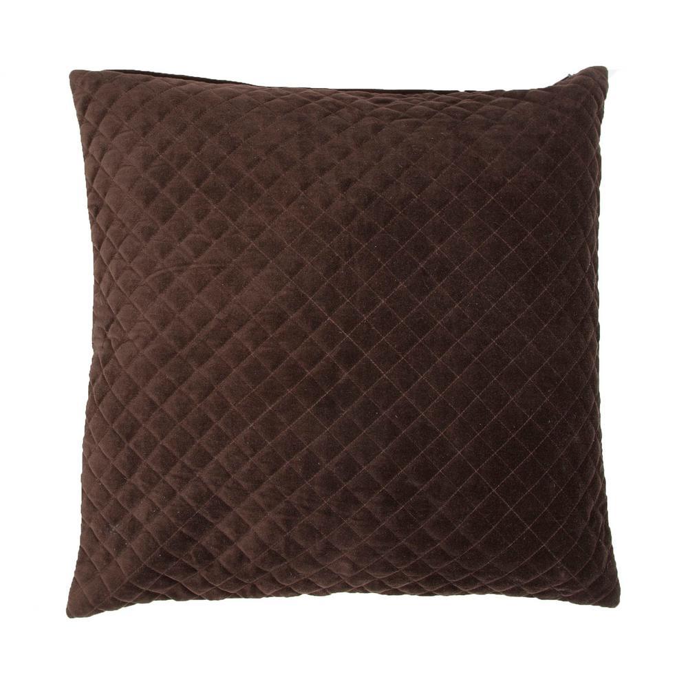Lavish Turkish Coffee Poly Decorative Pillow